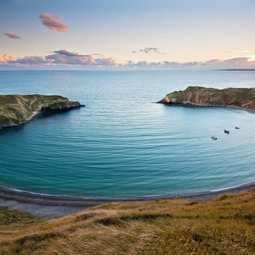 Visit Lulworth Cove in Dorset, England - Bucket List Ideas