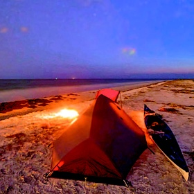Camp on the Beach - Bucket List Ideas