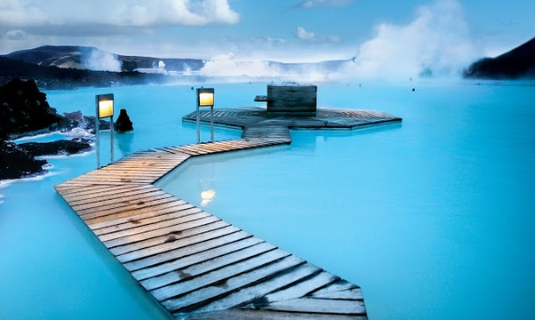 Spa in the The Blue Lagoon in Iceland - Bucket List Ideas