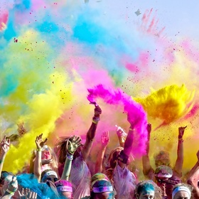 Do a color run - Bucket List Ideas