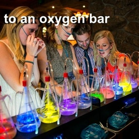 Go to an Oxygen Bar - Bucket List Ideas