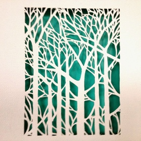 Make Canvas Cut Out Art - Bucket List Ideas