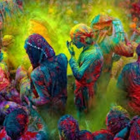 Celbate Holi in India - Bucket List Ideas