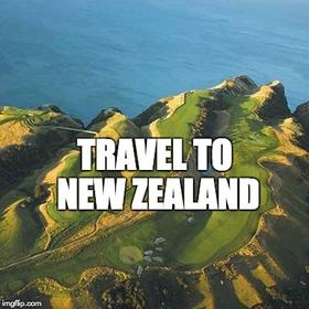 Travel to New Zealand - Bucket List Ideas
