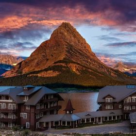 Stay at Many Glacier Hotel in Glacier National Park, MT - Bucket List Ideas