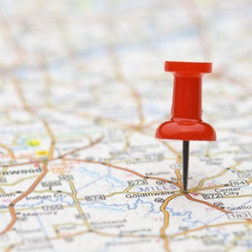 Throw a dart at a map and travel there - Bucket List Ideas