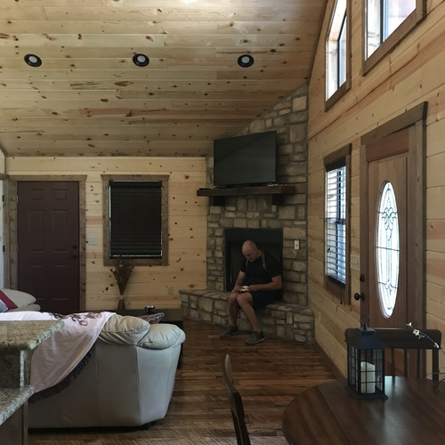 Stay in a log cabin on a lake - Bucket List Ideas