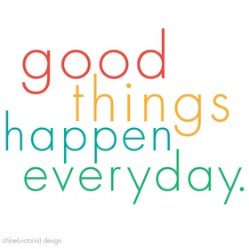 Keep Track of 1 Good Thing That Happens to Me Every Day for a Year - Bucket List Ideas