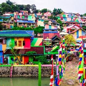 Visit Rainbow Village in Java, Indonesia - Bucket List Ideas