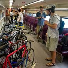 Take the bike train - Bucket List Ideas