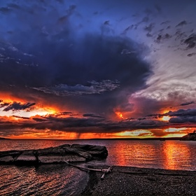 Watch the Sunset at Yellowstone Lake - Bucket List Ideas
