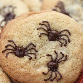Make Spider Chocolate Chip Cookies - Bucket List Ideas