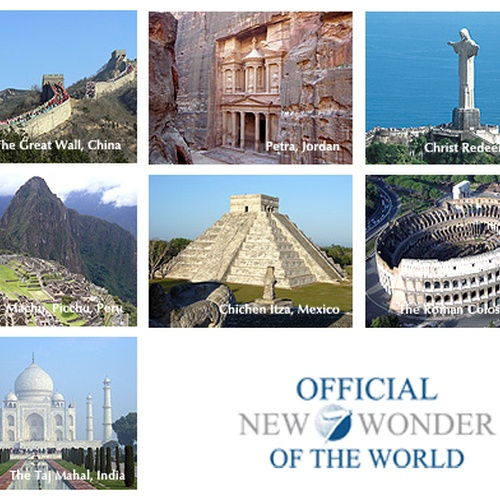 See the 7 wonders of the world - Bucket List Ideas