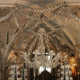 Visit the bone church in Prague - Bucket List Ideas