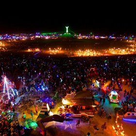 Go to the Burning Man festival in the nevada dessert - Bucket List Ideas