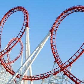 Ride an Upside Down Roller Coaster - Bucket List Ideas