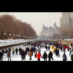 Ice skate on the Rideau Canal - Bucket List Ideas