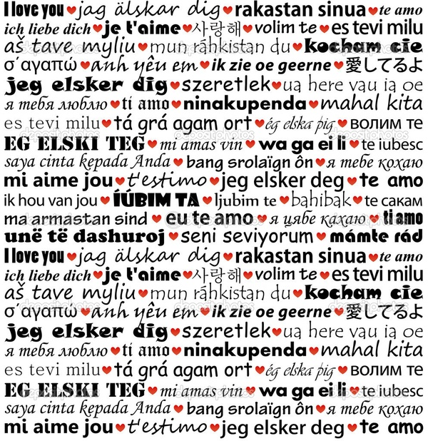 "Learn to say ""I Love You"" in 25 different languages - Bucket List Ideas"