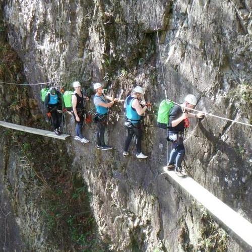 Traverse the Via ferrata - Kinlochleven Lochaber~Scotland - Bucket List Ideas