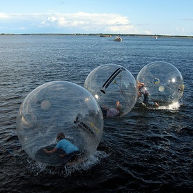 Go Zorbing - Bucket List Ideas