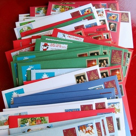 Christmas - Mail Cards - Bucket List Ideas