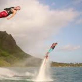 Try flyboarding (jetlev) - Bucket List Ideas