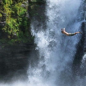Jump off a waterfall - Bucket List Ideas