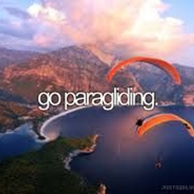 Go Paragliding! - Bucket List Ideas