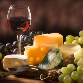 Have a wine and cheese tasting night witha friend - Bucket List Ideas