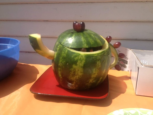 Make a Watermelon fruit bowl - Bucket List Ideas