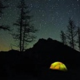 Camp out on New Year's Eve - Bucket List Ideas
