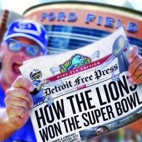 Watch the Detroit Lions win the Super Bowl - Bucket List Ideas
