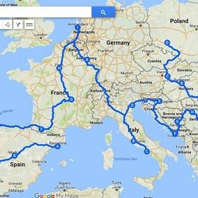 Interrail across Europe - Bucket List Ideas