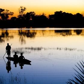 Take a Mekoro through the Okavango Delta in Botswana - Bucket List Ideas