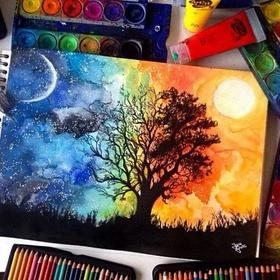 Learn watercolor painting - Bucket List Ideas
