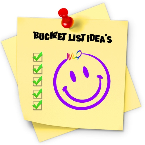 Make A Bucket List - Bucket List Ideas
