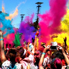 Participate in a Colour Run - Bucket List Ideas