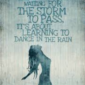 Dance in the rain - Bucket List Ideas