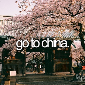 Go to China - Bucket List Ideas