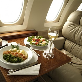 Enjoy a first class flight - Bucket List Ideas