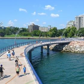 Bike along the Burlington Waterfront Trail - Bucket List Ideas