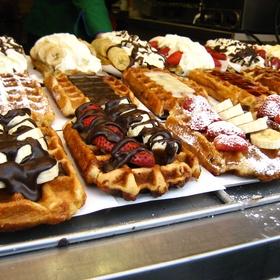 Eat a Belgian waffle in Belgium - Bucket List Ideas