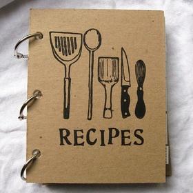 Create a Personal Recipe Book - Bucket List Ideas