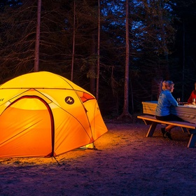 Go Camping - Bucket List Ideas