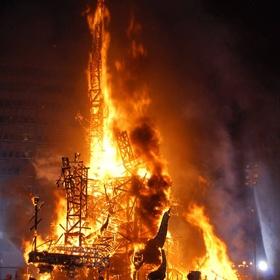 Watch Valencia burn during Las Fallas - Bucket List Ideas