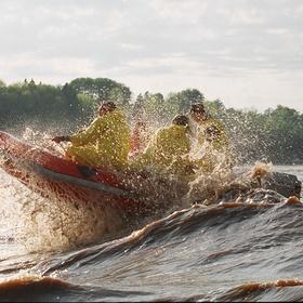 Raft a Tidal Wave in Nova Scotia - Bucket List Ideas
