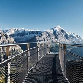 Walk on the Grindelwald Cliff Bridge, Switzerland - Bucket List Ideas