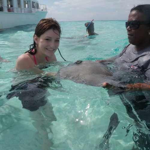 Hold a Stingray - Bucket List Ideas