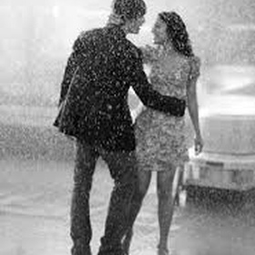 Dance in the rain with a special someone and end with a kiss - Bucket List Ideas