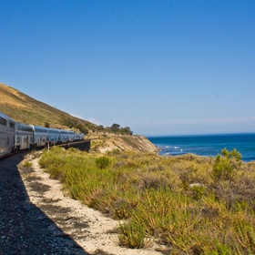 Enjoy Stunning Views on the Coast Starlight - Bucket List Ideas